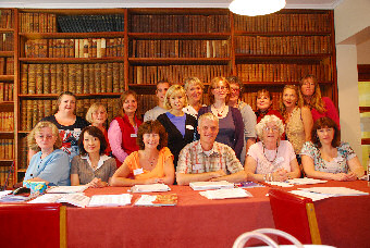President Carole Taylor with 'Working with Secondary Progressions' students