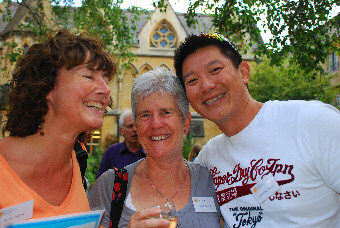 Becky Green, Rhona Grant, & Rod Chang