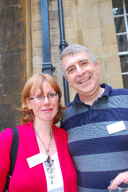 Carole Taylor & Bernard Eccles