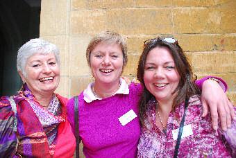 Hettie Malan with Tutors Peta High & Cat Cox