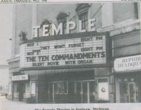 Image: Movie theaters are like modern temples...